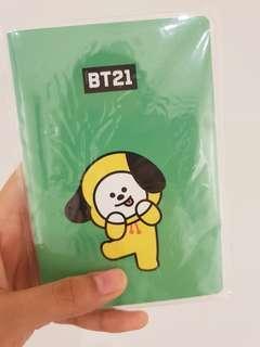 BTS BT21 Chimmy pocket note