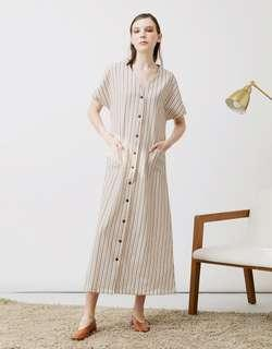 LINNETE CREME DRESS - like new