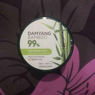 Damyang bamboo the face shope aloe vera nature republic