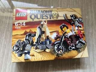 Lego Pharaoh's Quest Golden Staff Guardians 7306 絕版