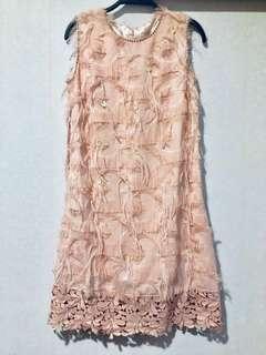 春夏系列🌸粉色氣質修身連身裙👗Elegant✨One piece dress