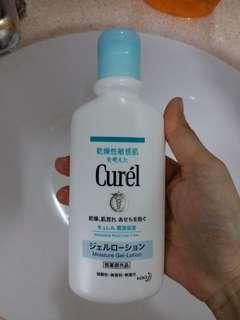 Curel gel lotion