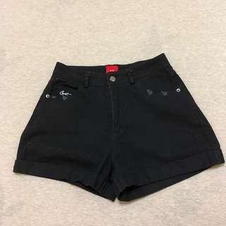 🚚 Caco 高腰反折短褲