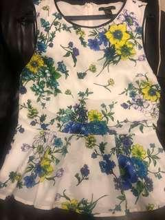 Floral Top (M) by Forever 21 #SnapEndGame