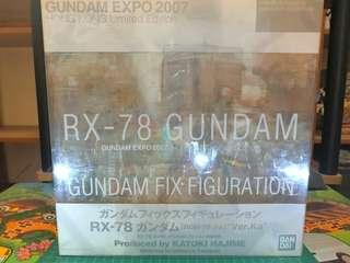*SALE* Bandai 1/144 Gundam Fix Figuration RX-78-02 Gundam Hong Kong Limited Edition
