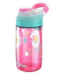 BPA free Contigo 水壼學習杯兒童水樽粉紅色 女孩 auto seal 嬰幼兒水瓶