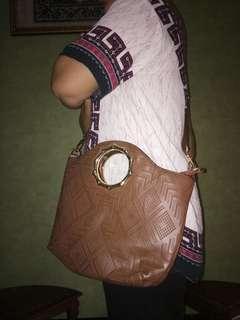 tas coklat / brown bag
