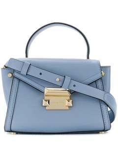 AUTHENTIC Michael Michael Kors Baby Blue Whitney Mini Satchel
