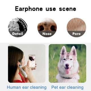 wifi可視耳勺 高清一體耳勺 手機高清可視耳勺無線掏耳耳道內窺鏡