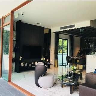 Freehold Landed properties with AMENITIES & 24 hr Security in a QUIET ENCLAVE in SELETAR ESTATE