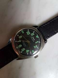 Vintage hmt Pilot 17J Para-Shock Men Watch(NOS).