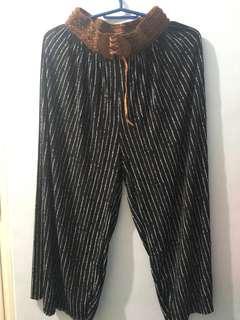 Ladies' Printed Square Pants