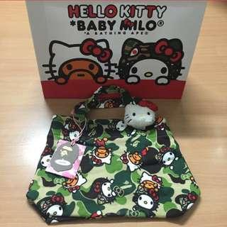 Brand new A bathing Ape x hello kitty tote bag (limited edition) for SALE!