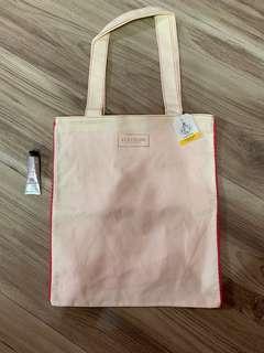 🚚 歐舒丹❤️環保購物袋+櫻花護手霜10ml