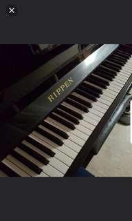 European upright piano, Rippen for sale