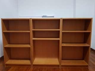 Ikea billy low bookshelf