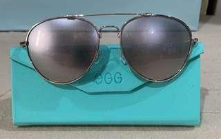 eGG 磨砂面金色太陽眼鏡