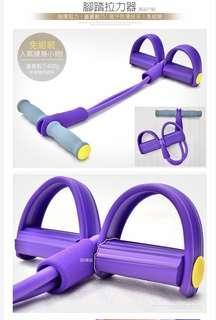 腳踏拉力器