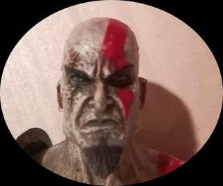 God of war kratos head only - neca loose
