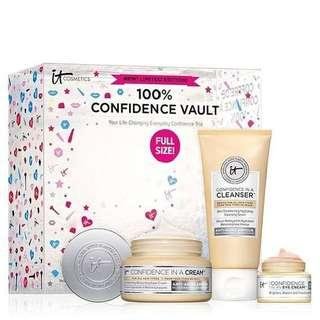 IT COSMETICS 100% Confidence Vault Skincare Set