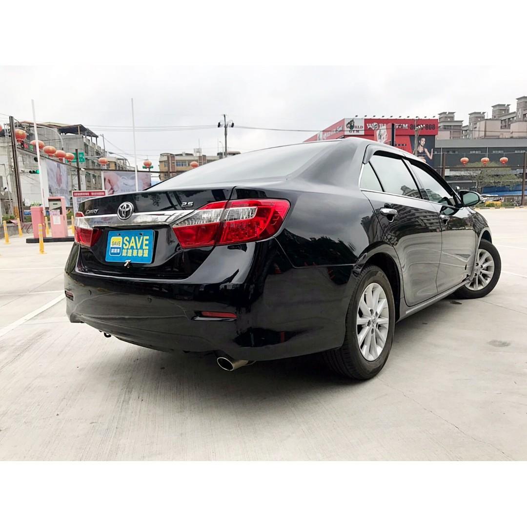 2014年 TOYOTA CAMRY 汽油版 沒有大電池更換的問題 僅跑六萬 一手車庫車 可全額貸款低月付