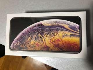 iPhone XS Max BNIB 256g Gold Color