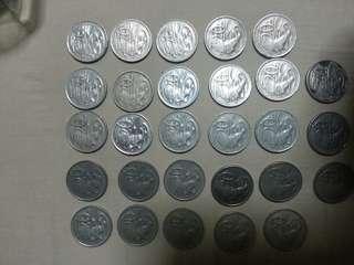 Australia 20 cent total 5.50 all