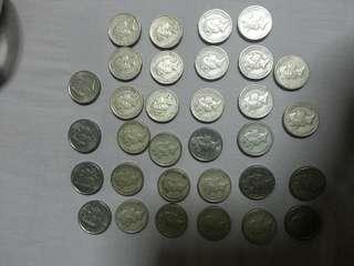 Australia 2 dollar coin total got 60.40 dollar