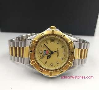 Tag Heuer Professional 2000 Gold Quartz Watch