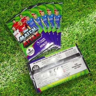 🚚 ⭐TOPPS Match Attax Trading Premier League cards 2016 - 2017 #MRTYishun
