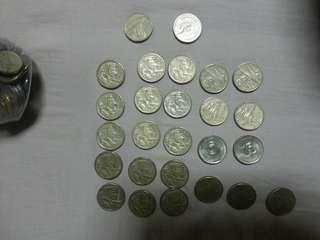 Australia 1 dollar coin total 28.00 dollar
