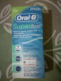 Oral-B Super floss - Dental #SnapEndGame