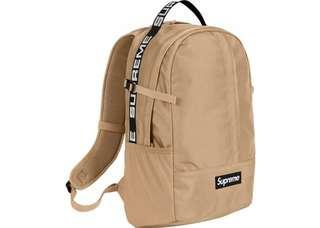 Supreme Backpack SS18 90% New