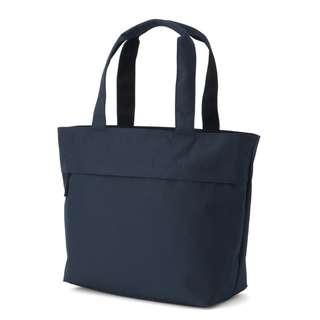 MUJI 無印良品 | ~50% Discount | NAVY BLUE TOTE BAG WITH WIDE ZIP POCKET