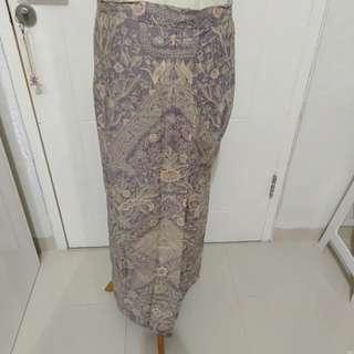 kain batik sudah dijahit