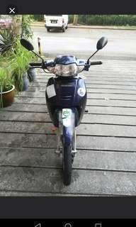 Honda Wave 100 - Blue