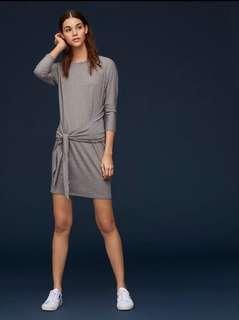 Aritzia - The Group Babaton Taupe Friedan Dress