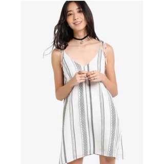 [SALE] BN Something Borrowed Swing Cami Dress Tie Strap