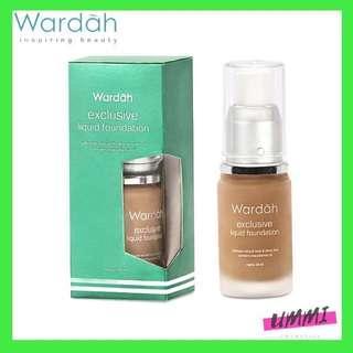 Wardah Exclusive Liquid Foundation 02 Sheer Pink - Makeup Wardah - Wardah Kosmetik