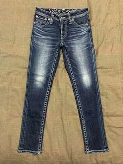 Worn once Japanese brand rodeo crown size 26 jeans