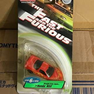 Tomica Fast and Furious Honda NSX
