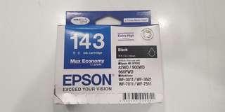 Epson 143 Ink (New,  Genuine)