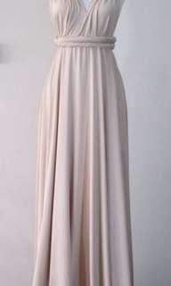 Infinity dress cream (free shipping)