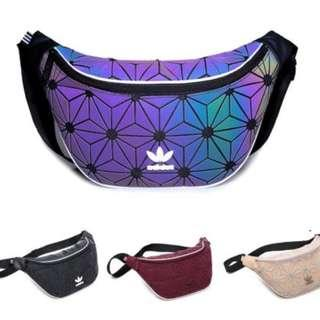 (Pre Order )Unisex 3D Casual Chest Bag Sling Bag Sport Waist Bag