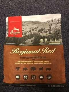 Orijen Regional Red 1.8 Kg expired on Sept