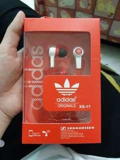 🚚 【adidas ORIGINALS XS-17】入耳式耳機