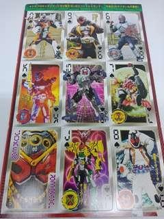 20 Kamen Rider Kicks Playing Card