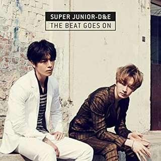 SUPER JUNIOR D&E - THE BEAT GOES ON