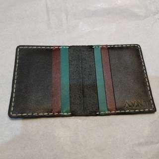 Card Wallet Full Leather kulit asli dompet kartu