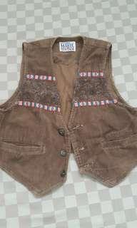 Brown Vest cordoray